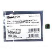 CB383A EuroPrint чип для картриджа HP CLJ CP6012, 6015; CM6030, 6040, Пурпурный фото