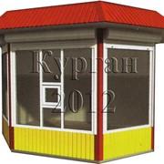 Киоски и павильоны с четырехскатной крышей фото