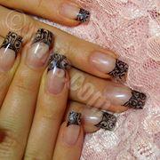 Наращивание ногтей (акрил гель) шеллак гель. фото
