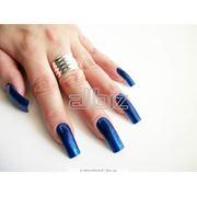 Наращивание ногтей «Классика под лак» фото