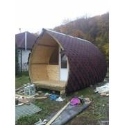 Арочный домик фото