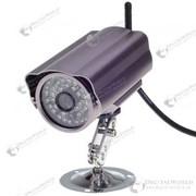 Беспроводная WI-FI/LAN водонепроницаемая IP камера с ночным видением (300K CMOS, 40-LED IR) фото