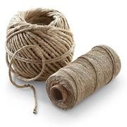 Льнопеньковый шпагат производится из растительного натурального сырья фото