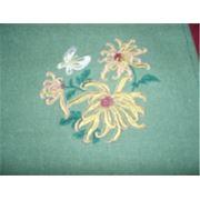 Машинная вышивка. Машинная вышивка на одежде и других изделиях. Вышивка на заказ фото