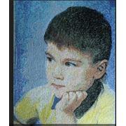 Машинная вышивка портретов. Одесская область фото