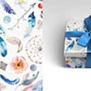 """Упаковочная бумага Миленд """"Бохо"""", 10 листов, 70 х 100 см., 90 г/м2, 10-05-0044 фото"""