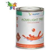 Светящаяся краска для дерева, фанеры, ДСП, ДВП - AcmeLight Tree 1л белый фото