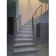 Больцевые лестницы из исскуственный камня на заказ по индивидуальным размерам фото