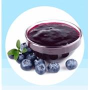 Натуральное ягодное пюре без сахара и с сахаром (10%) из ягод черника, брусника, клюква, морошка, облепиха, рябина, черная смородина, красная смородина, арония фото