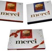Конфеты шоколадные Мерси (Merci Finest Selection), ассорти 250г фото