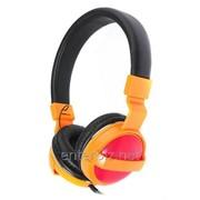 Наушники Maxxter CDM-101O Orange/Red фото