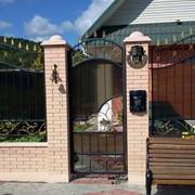 Кованые ворота; Краснодар фото