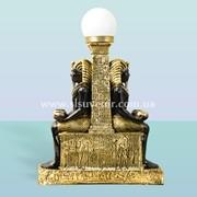 Интерьерный светильник статуя Египет фото