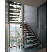 Лестничные ступени из исскуственный камня на заказ по индивидуальным размерам фото