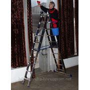 Лестницы алюминивые универсальные ELKOP TК 2Х8 фото