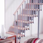 Лестница прямая Arke Kompact 89. Интерьерные лестницы. Арке. фото