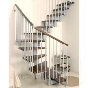 Лестница маршевая Arke Kompact 89. Лестницы Арке. Лестницы под заказ фото