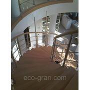 Винтовые лестницы на больцах фото