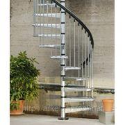 Винтовая лестница Arke Сivik ZINK для наружного использования, диаметр 120 см фото