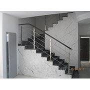 Изготовление и отделка бетонных лестниц фото