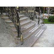 Гранитные лестницы от производителя (Образец 615) фото