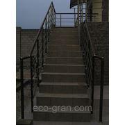 Лестницы металлические наружные фото