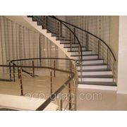 Изготовление лестниц под заказ фото