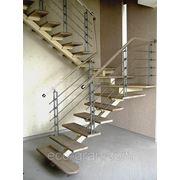 Изготовление модульных лестниц фото