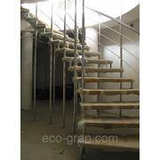 Исполнение больцевой лестницы фото