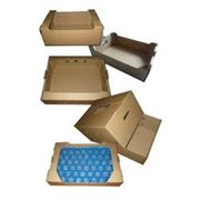 Доставка и упаковка продуктов питания. фото