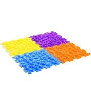 Коврик массажный Цветные камешки - мягкий Тривес фото