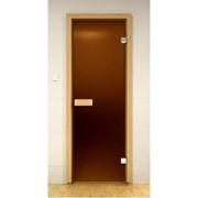 Стеклянная дверь для бани ALDO фото