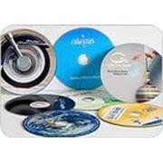 Тиражирование CD DVD дисков печать на дисках фото