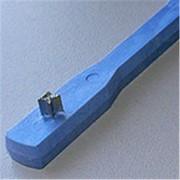Инструмент для усадки колец с коротким концом, стерил-емый, со звездообр. металл. вставкой, голубой *Glenroe* USA фото