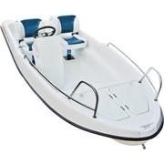 Лодка Laker 410 с креслами и консолью фото