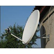Установка спутниковых тарелок фото