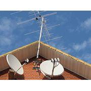 Установка и настройка спутникового и эфирного телевидения фото