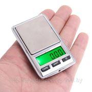 Портативные весы 100гр. *0.01 / 500гр. *0.1. фото