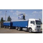Перевозка зерна автотранспортом фото