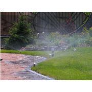 Устройство систем автоматического полива а также систем декоративного полива с подсветкой воды фото