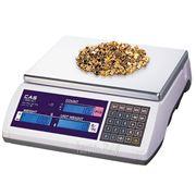 Весы электронные настольные счетные CAS EC-30 (поверенные) фото