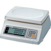 Весы электронные настольные CAS SW-10 (поверенные) фото