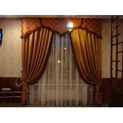 Подбор декоративных тканей. Услуги по текстильному декорированию помещений. Подбор штор пошив на заказ фото
