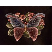 Роспись ткани масляными красками - фунтик фото