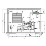 Монтаж дизель-генераторов под ключ. фото