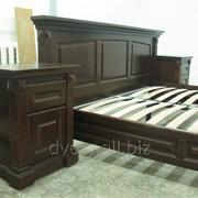 Кровати из массива дерева фото