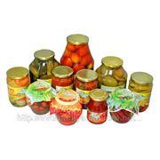 Рынок плодовоовощных консервов фото