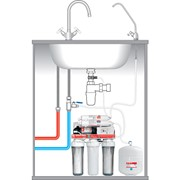 Установка фильтра для воды / обратный осмос фото