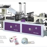 Высокоскоростная машина для производства пакетов Фасовка и Майка в рулонах , линии для изготовления полиэтиленовых пакетов, Украина. фото