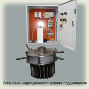 Установка индукционного нагрева подшипников (пример, индивидуальная разработка по техтребованиям заказчика, совместная патентная защита изделий) фото